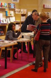 photo salon du livre mars 2005